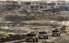 The oil sands, Alberta's bread and butter. Though reviled by environmentalists, operations like bitumen mining will continue in Alberta. This points up the stark issue for Alberta, Canada, and the world:  how to move around on the surface of our planet without polluting our own air. The only way is by using nuclear energy.